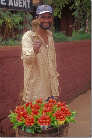بائع الفرولة